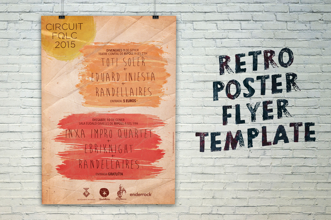 Free Poster Flyer Template On Behance