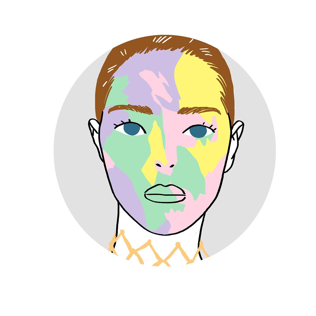fashion illustration sasha baranovskaya FLACON magazine