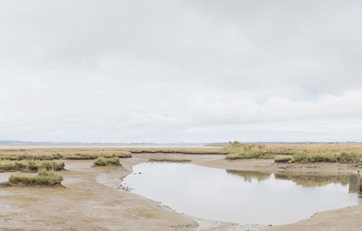 Humboldt Bay climate change Arcata Marsh anthropocene water cultural landscape landscape photography panoramic photograhy