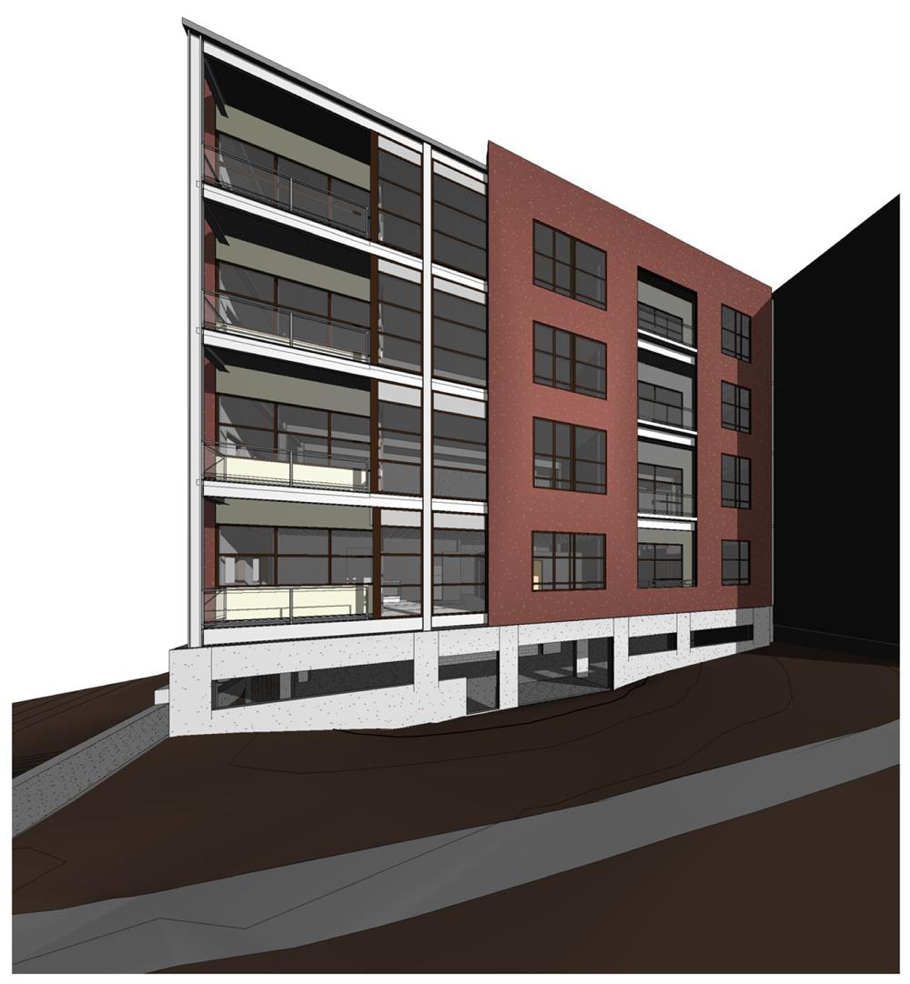 Nunn Building Lofts On Behance