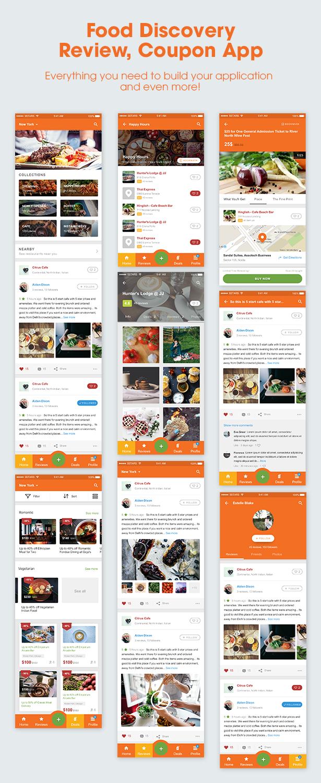 5Stars - Mobile UI KIT for Food & Beverage App Ecosystem - 2
