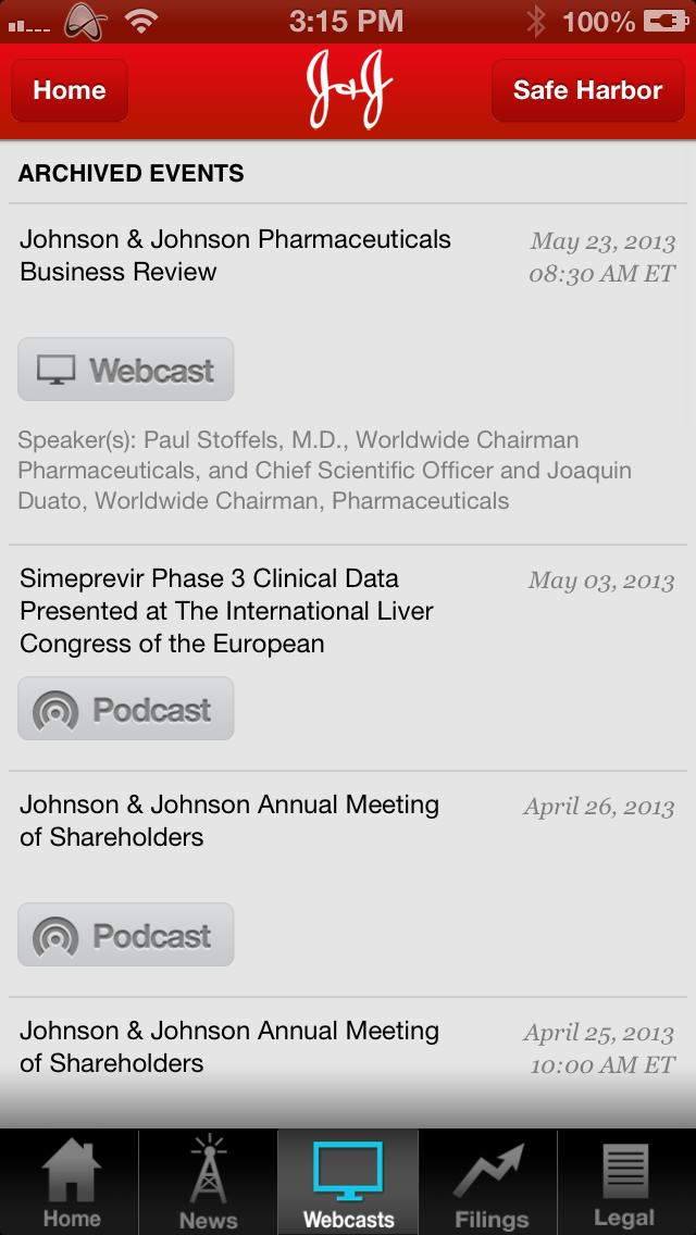 ios iphone iPad investor