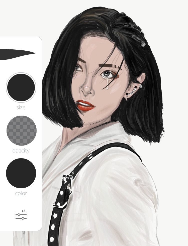 fanart ILLUSTRATION  the Eve Xu Jiaqi