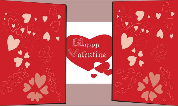 Valentine Card On Behance