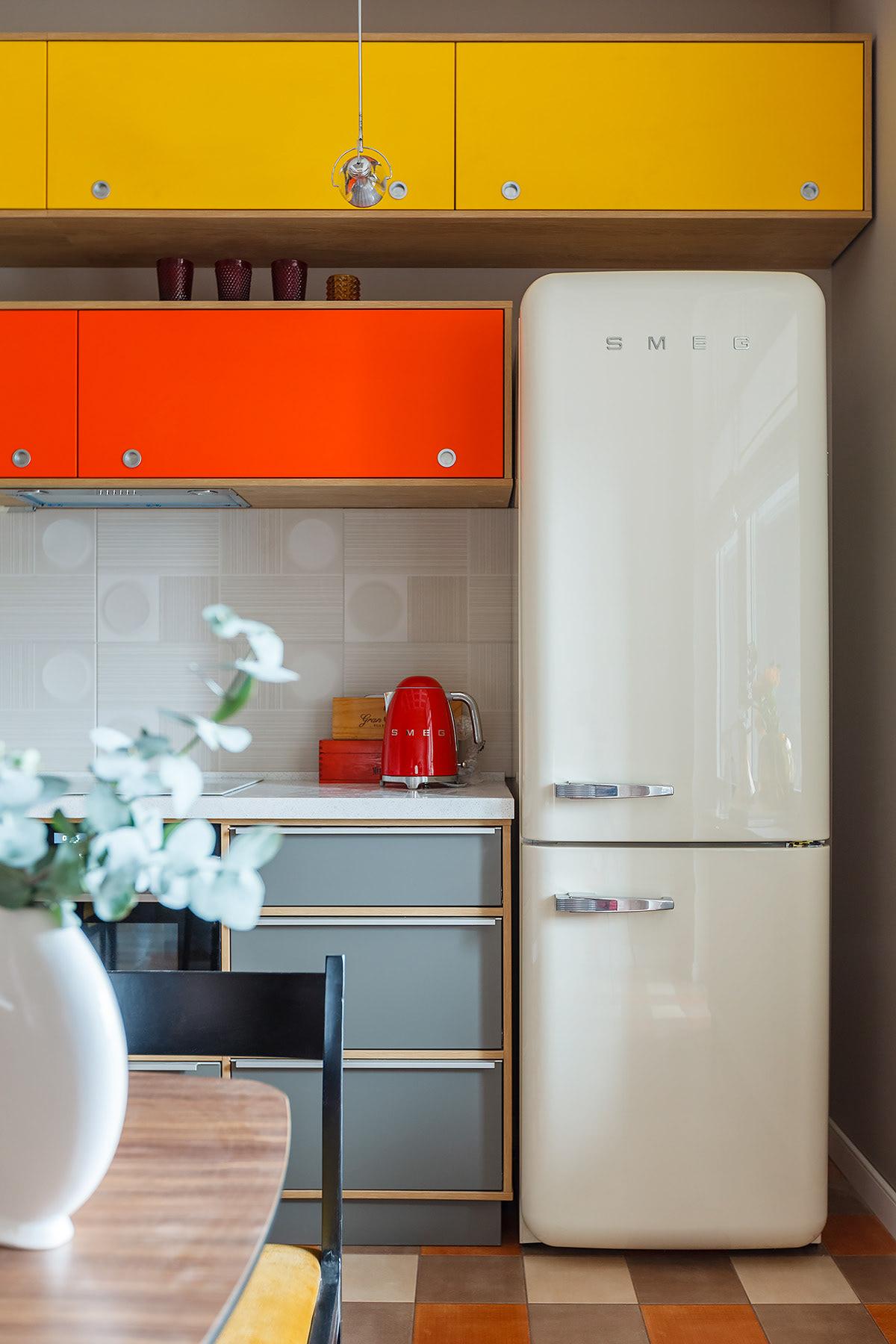 annashalaeva avantgarde block color concept design Interior midcentury Soviet