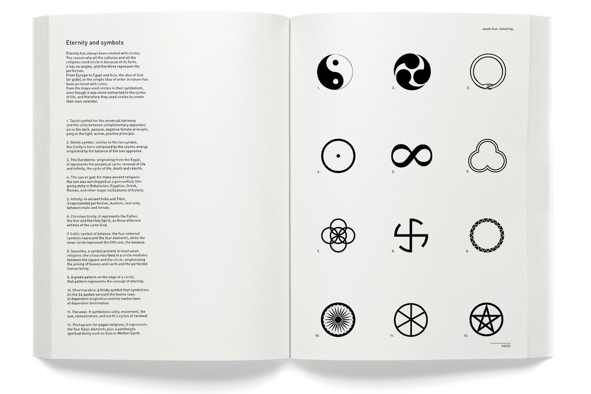 Emanuele catena the circle below some pages from the meaning part of the book click on the issuu file to watch the entire project about the circle buycottarizona
