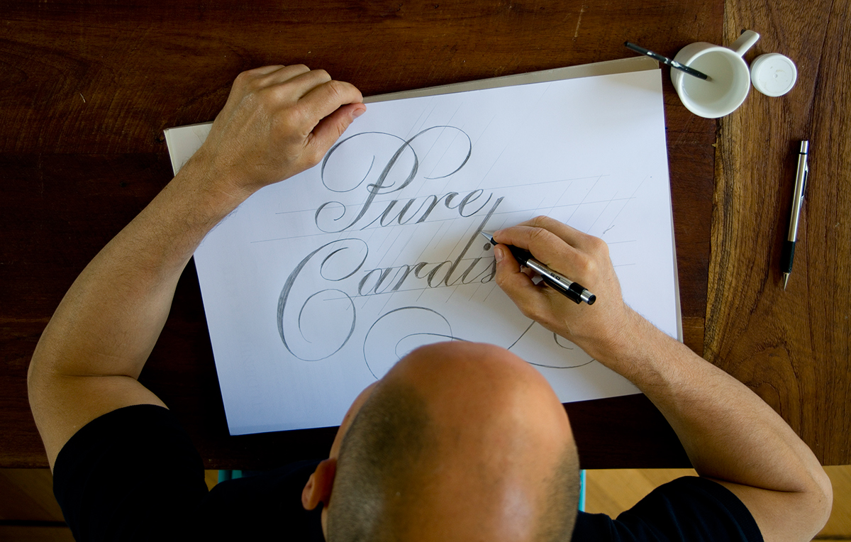 Letterinng copperplate commercial script Custom Lettering HAND LETTERING penmanship English Roundhand