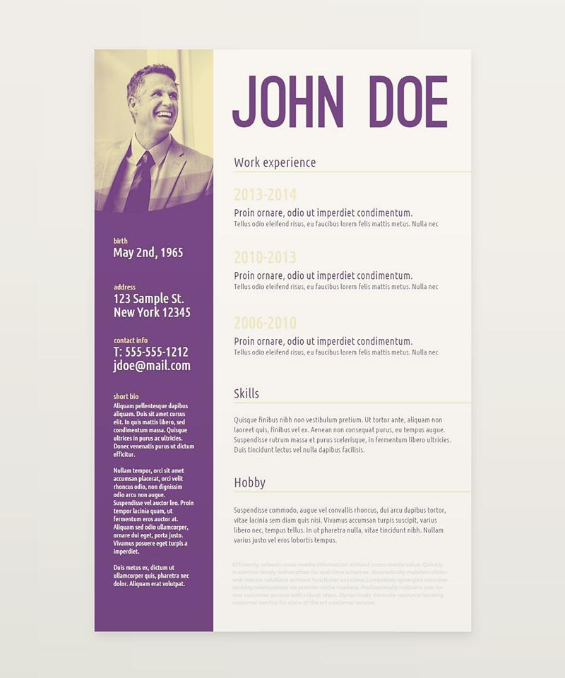 createer,free,template,freebie,Resume,CV