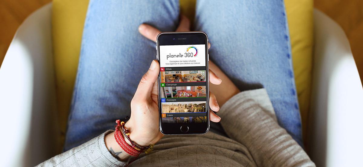 Planete360 - Site mobile