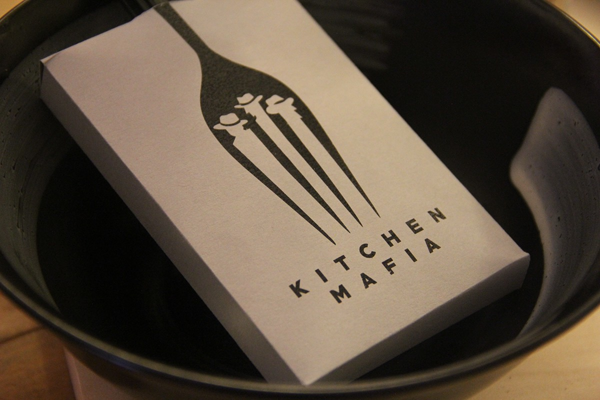 kitchen mafia branding logo design on behance kitchen mafia to create a logo and look for their brand as they kicked off their new cafe catering to urban foodies looking for great fusion food in a
