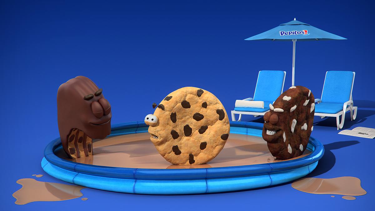 pepitos! scan fun animation  3D trexel