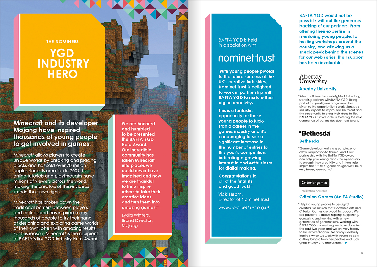 bafta,Games,YGD,Awards