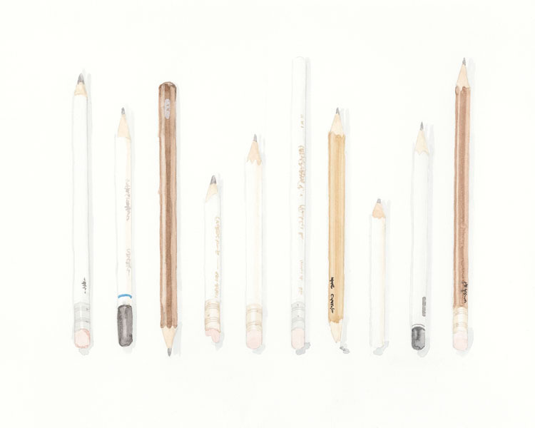 Pencils, 2015