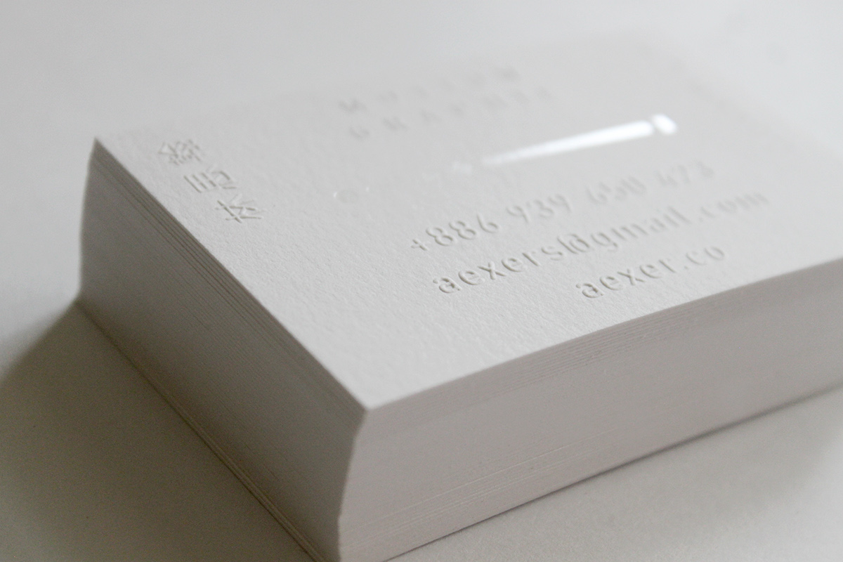 Aexers Lin - Business card on Behance