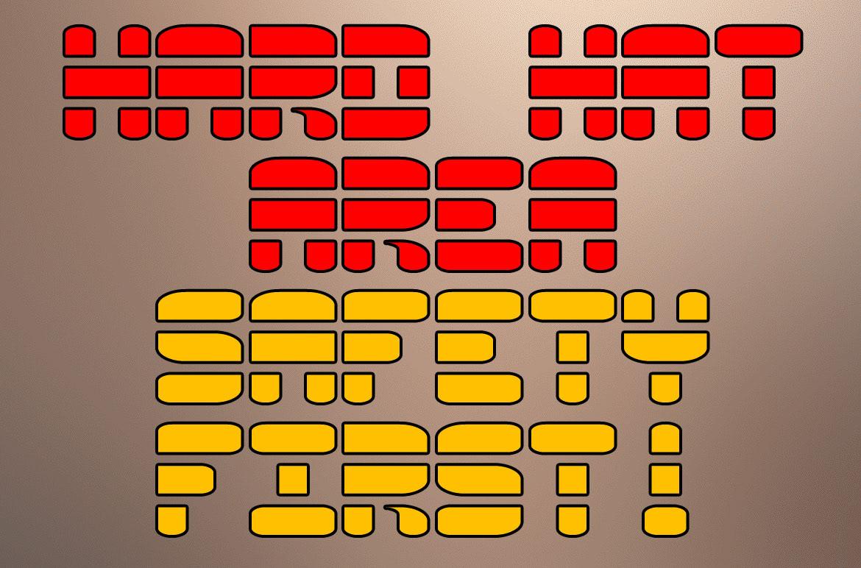 Tirrel font typography   stencil sans Logotype white space web font novelty Typeface
