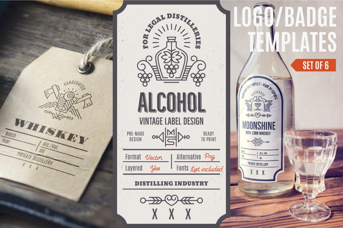 Distilling Industry - Vintage Label Design on Behance
