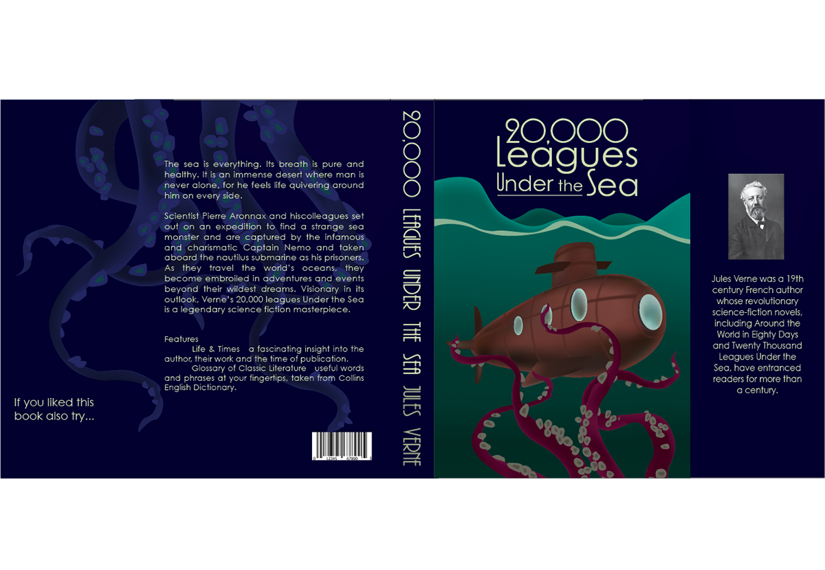20,000 Leagues Under The Sea on Behance