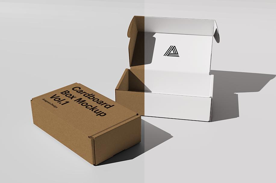 box box mockup box template cardboard box cardboard box mockup cardboard box template Free Box Mockup free mockup  Free Template mail box mockup