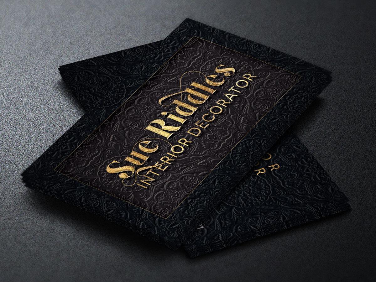 Decorator Business Card Template on Behance