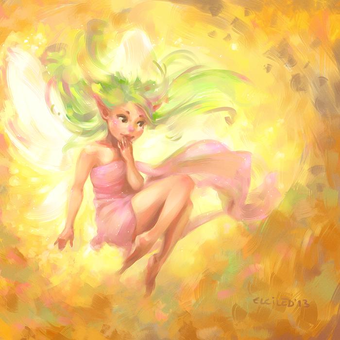 fairy fae faery faeries Fairies pixies fantasy art digital painting Fada fadas pintura digital fantasia fantasy cute children's