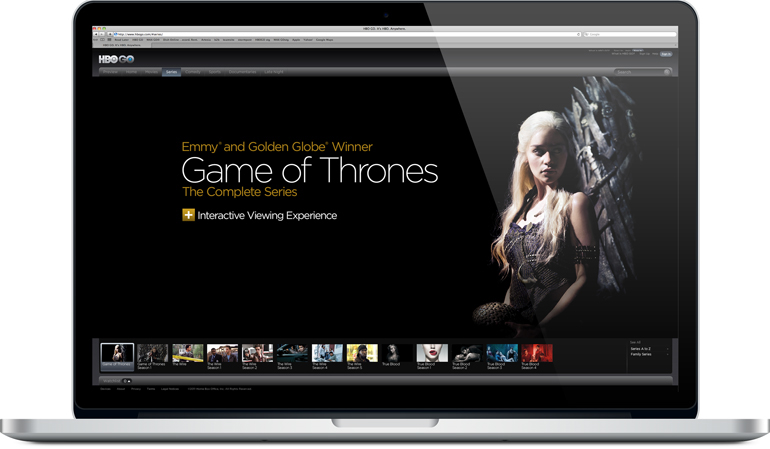 Carrie Hamilton - Staging Imagery for HBO GO