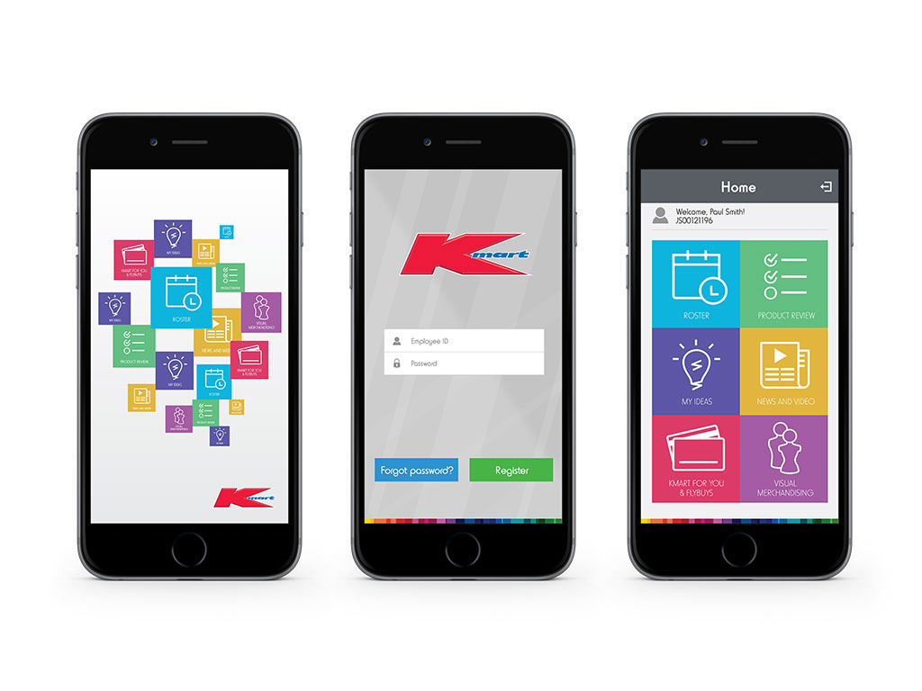 Kmart Australia - Kmart Team App on Behance