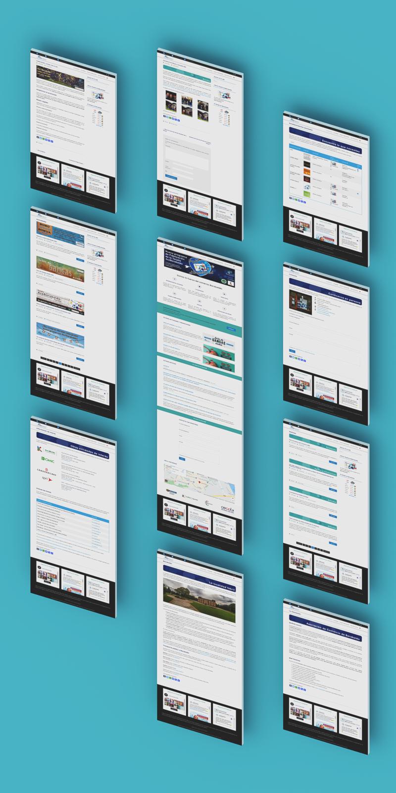 desarrollo web Diseño web Mockup Responsive wordpress