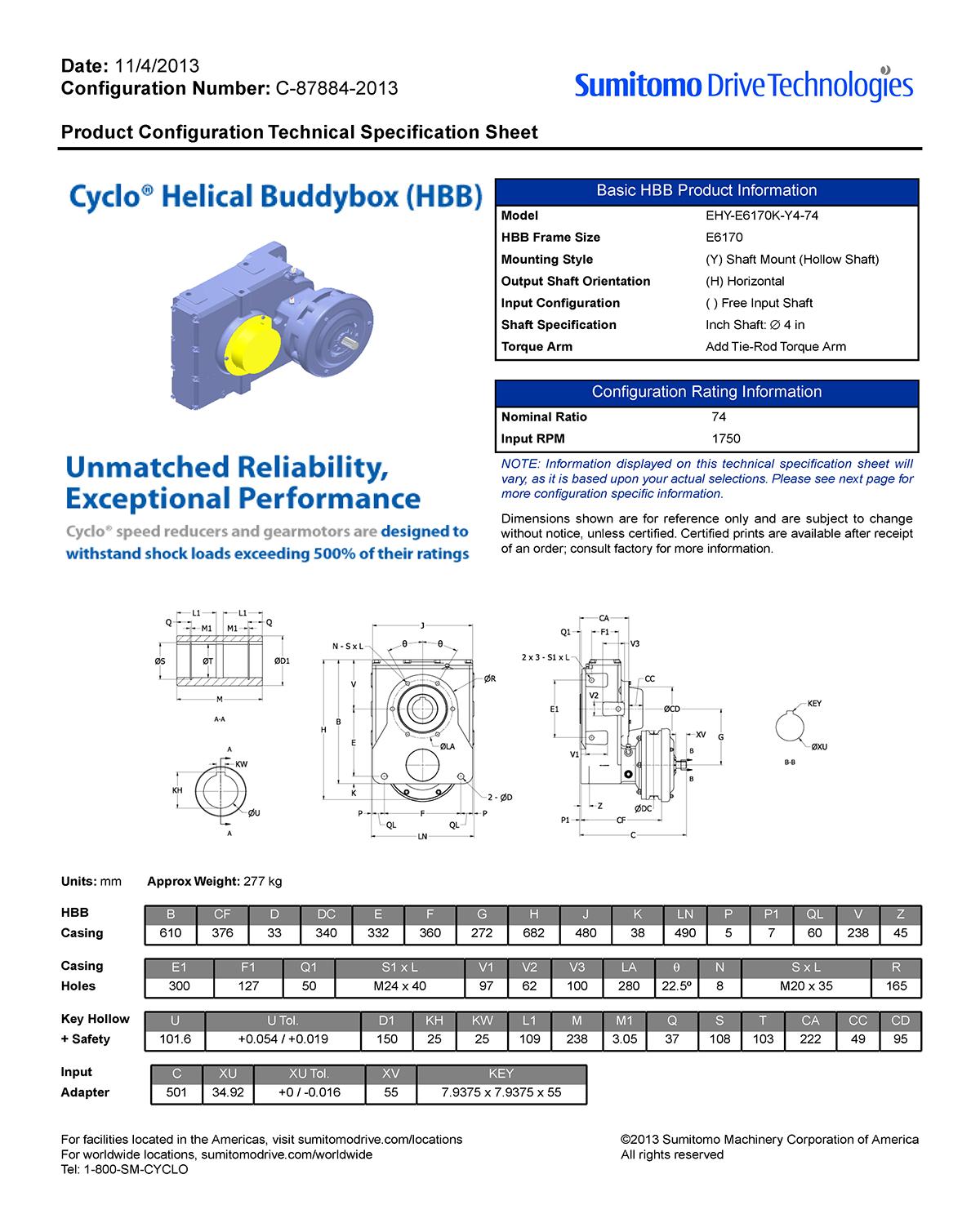 Configurator Spec Sheet Example On Behance