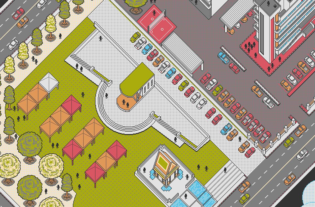Image may contain: map, cartoon and screenshot