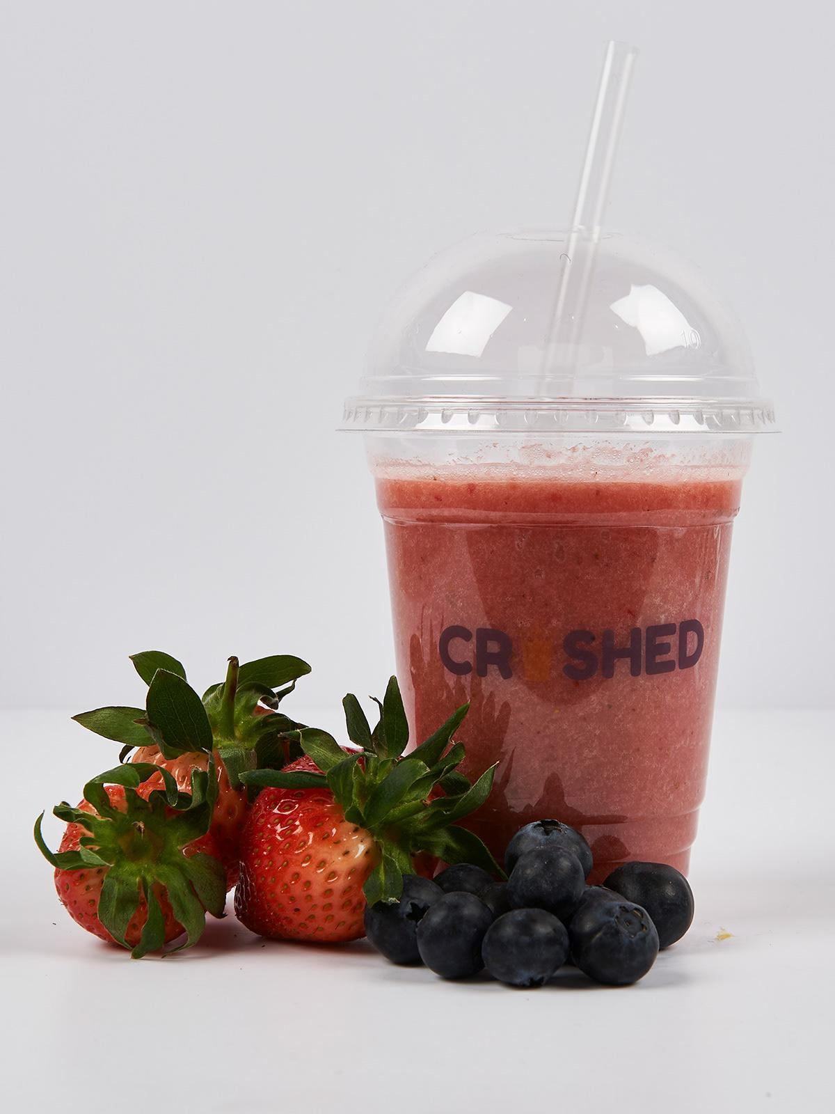 smoothie branding  cup packaging menu cup