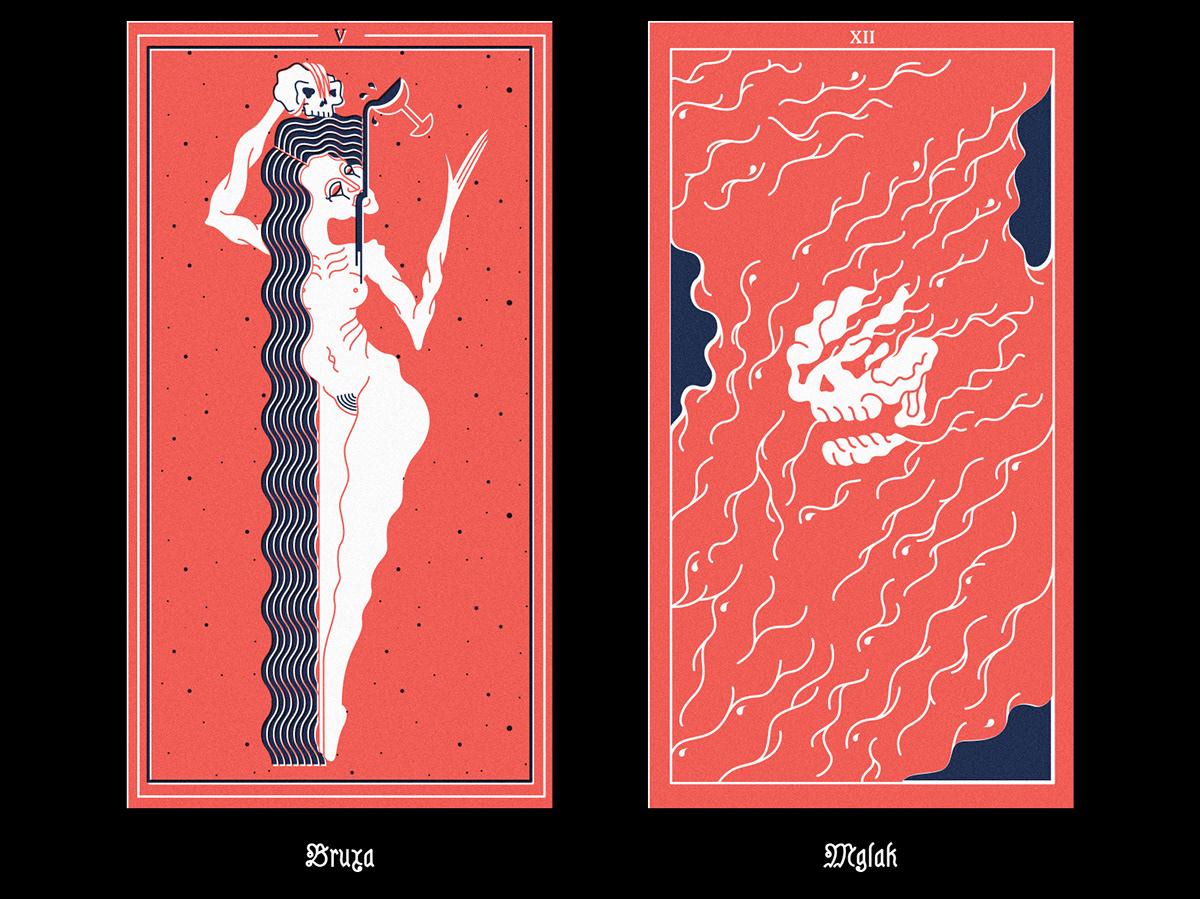 THE WITCHER BESTIARY   demons from slavic mythology on