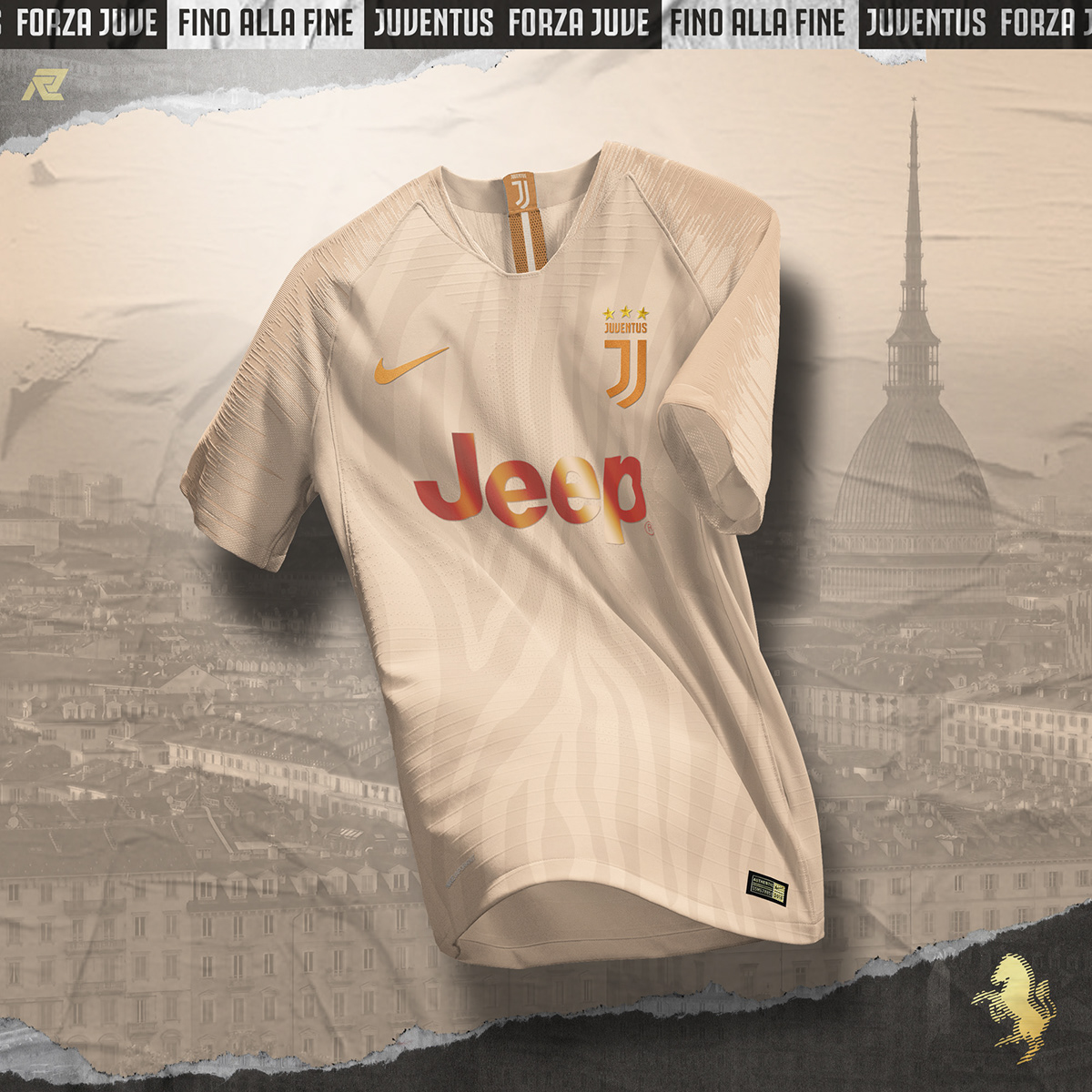 reputable site ce5f1 6cc7d NIKE x JUVENTUS Concept on Pantone Canvas Gallery
