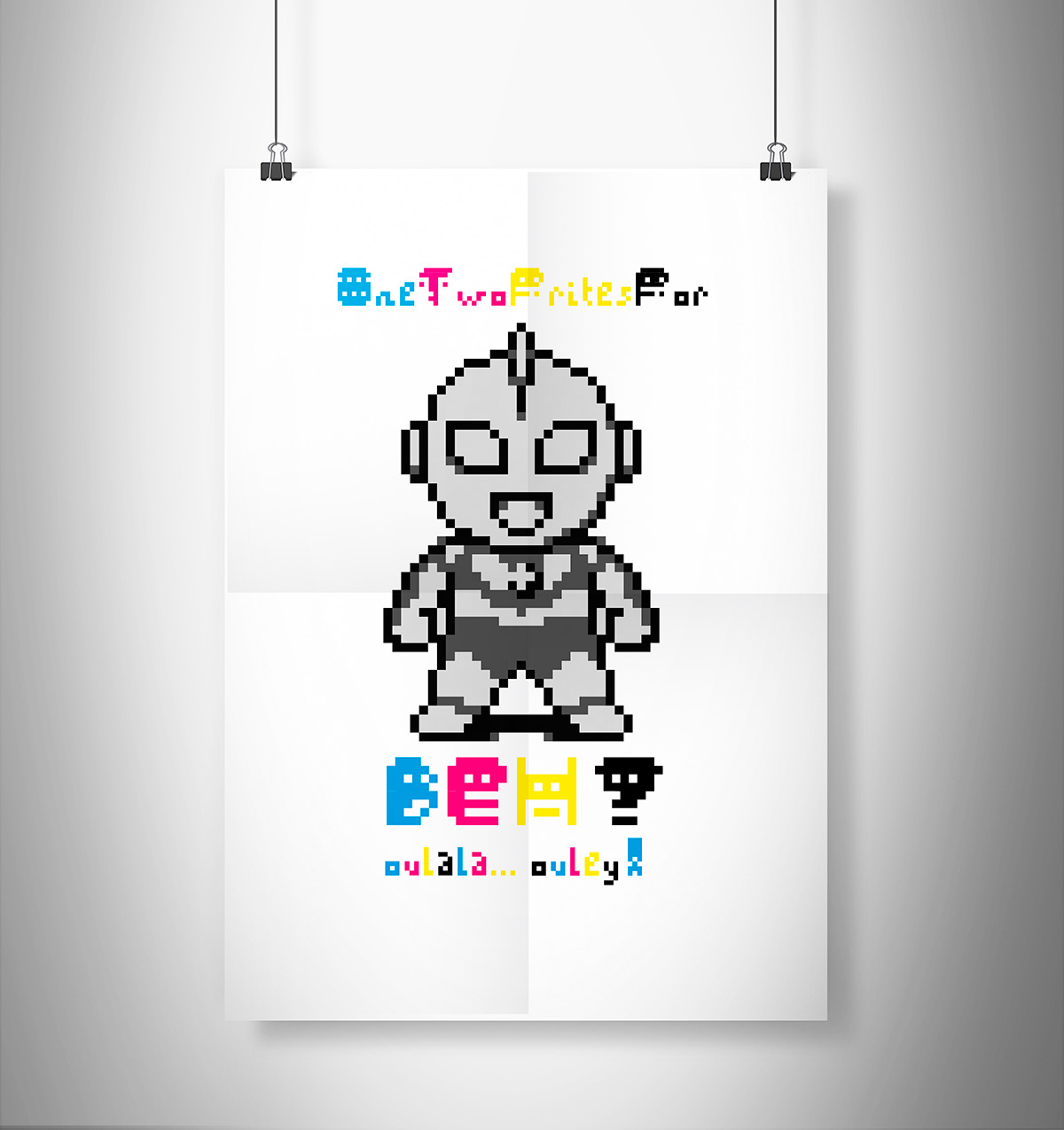 Adobe Portfolio pixel font pixel type Pixel art pixel 8 bit type Typeface cartoon typo dingbats