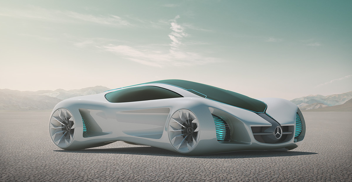 Mercedes Biome Concept on Behance