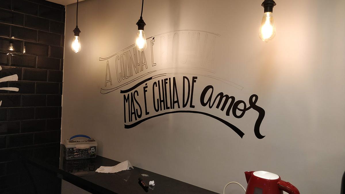 lettering Chalkboard chalklettering type