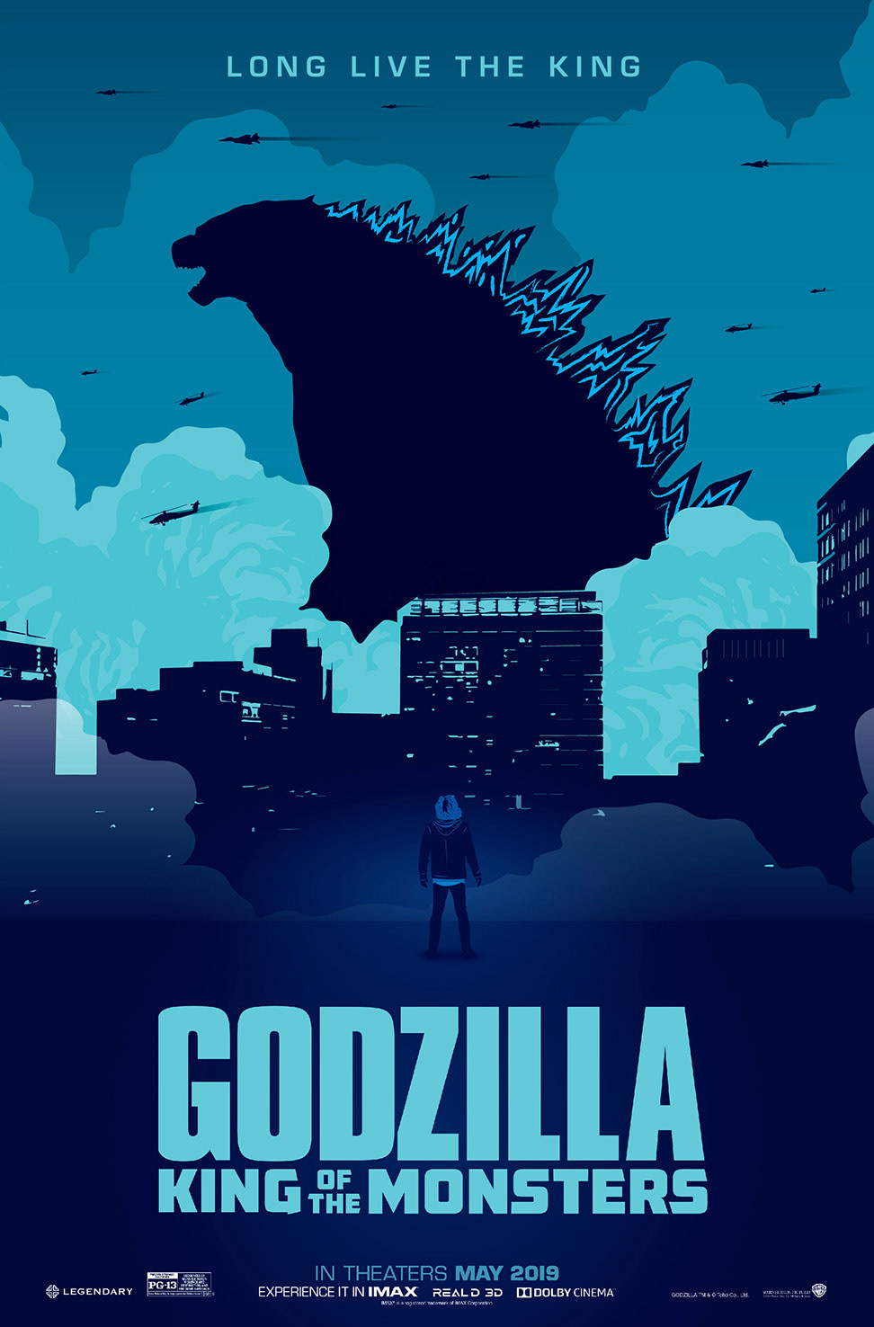 Godzilla King Of The Monsters 2019 Alternative Poster On Behance