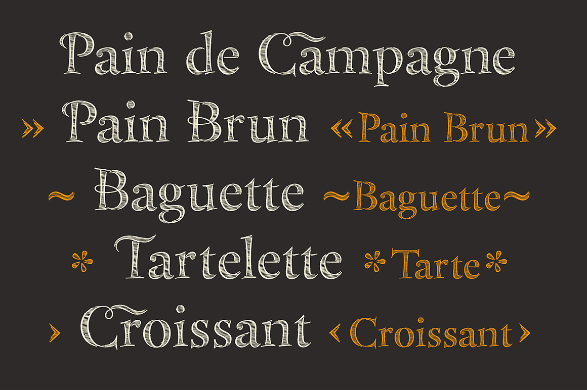 Bakersville Serif Scetch Font on Behance