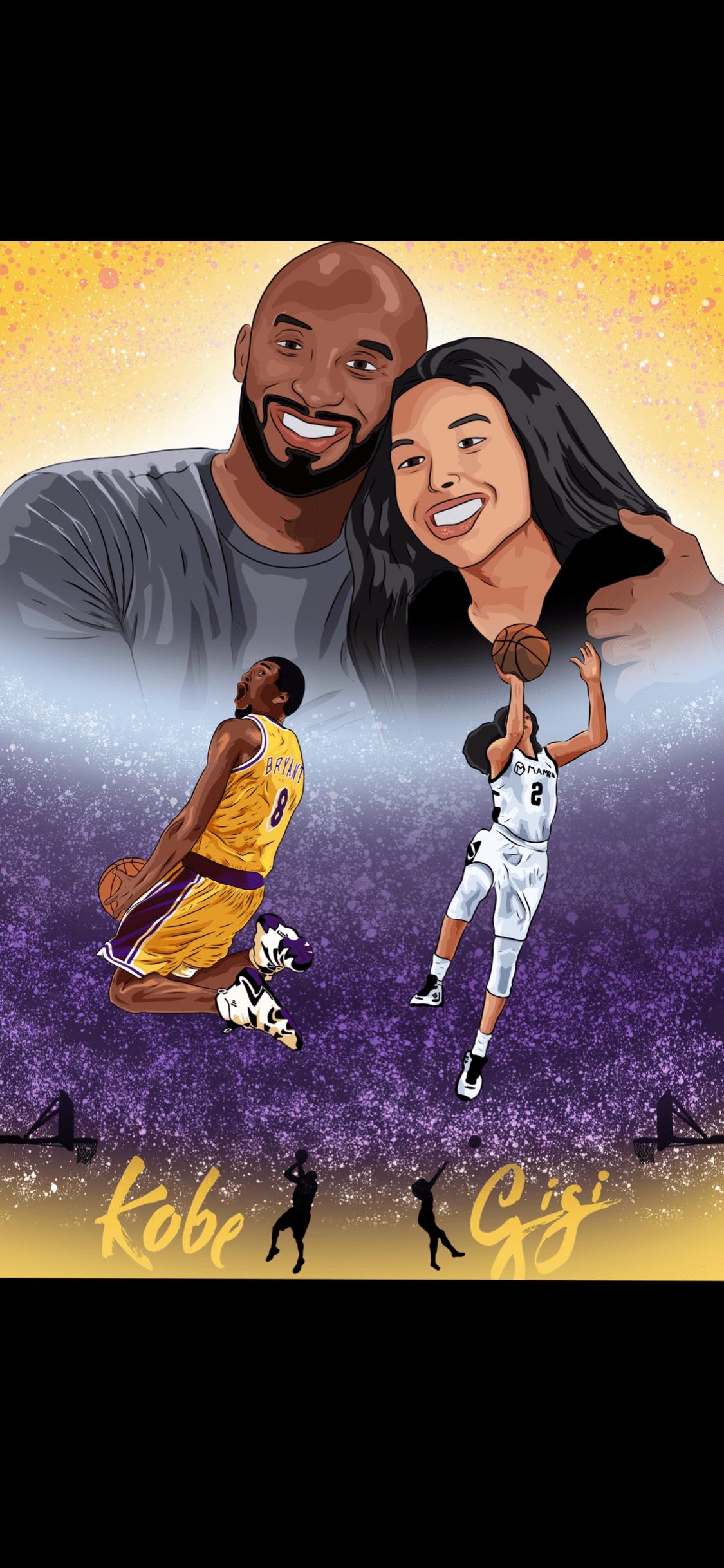 Kobe Gigi Poster On Behance