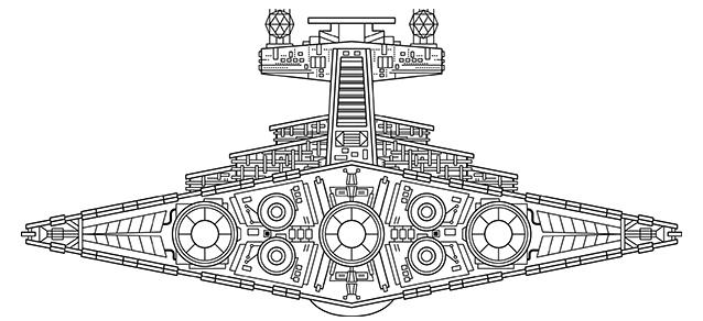 star wars episode iv ships on behance. Black Bedroom Furniture Sets. Home Design Ideas