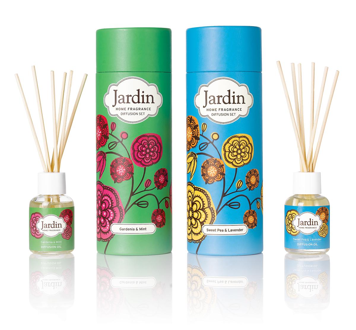 Jardin on behance for Jardin gally 78
