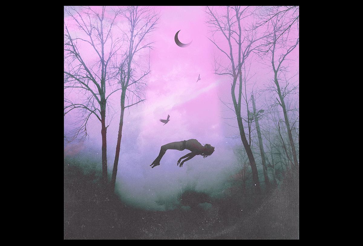 dark photomontage photomanipulation sci-fi photoshop collage surreal vintage cover ILLUSTRATION
