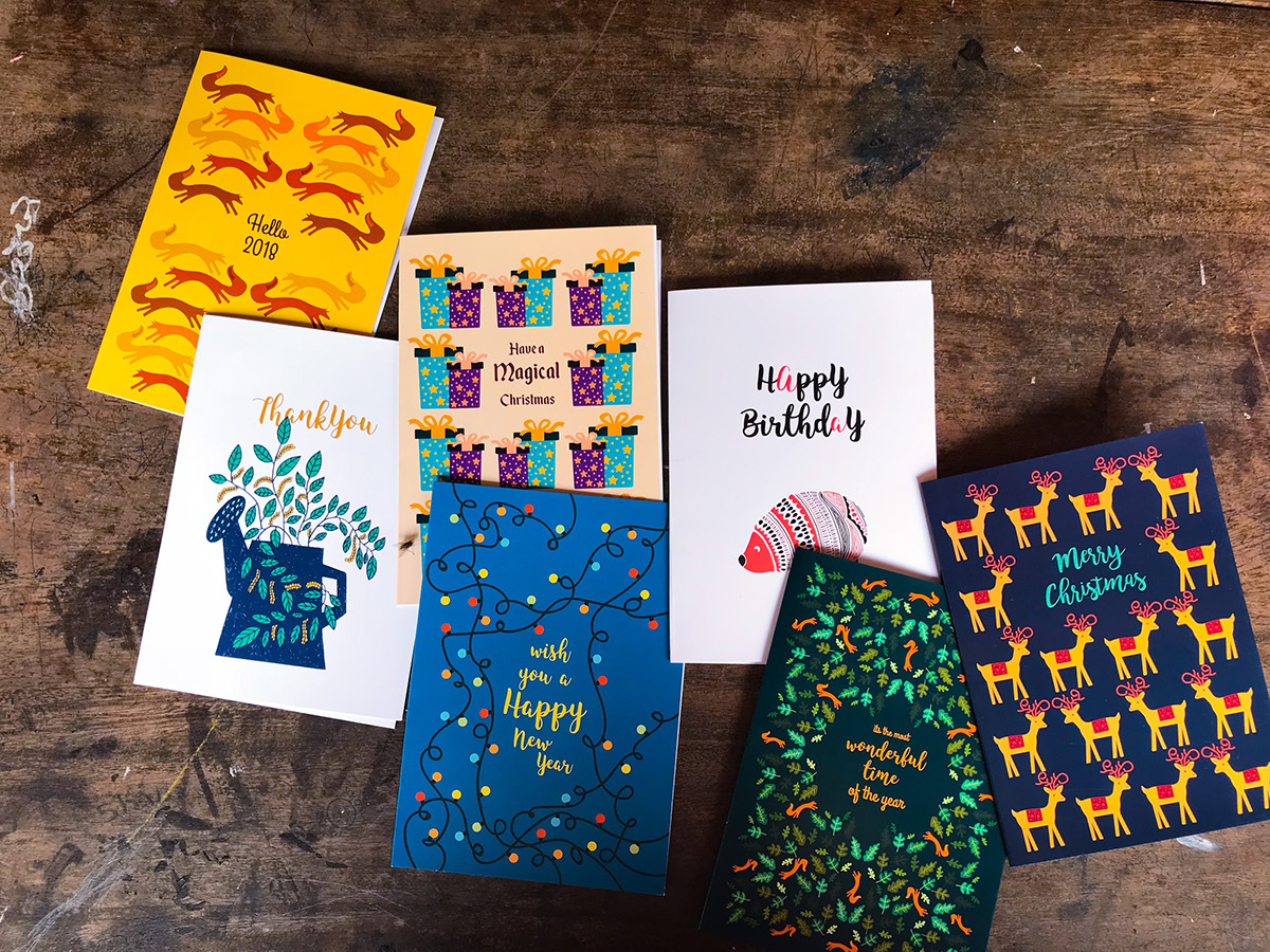 Greeting Card Collection2017 On Student Show