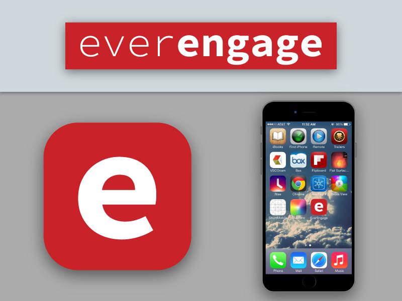 Everengage Ios App Icon Mockup On Behance