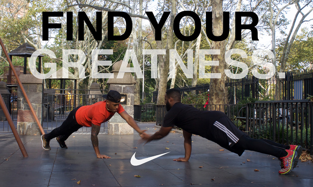 Nike Find Your Greatness Ad Project On Pratt Portfolios