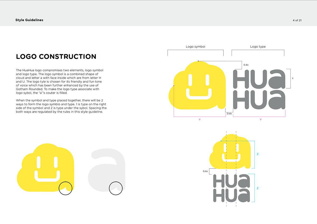 HuaHua Brand Identity on Behance