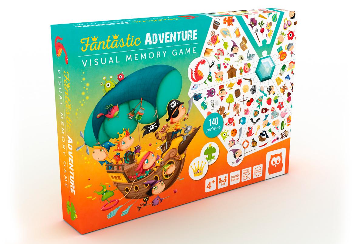 Resultado de imagen de fantastic adventure visual memory game