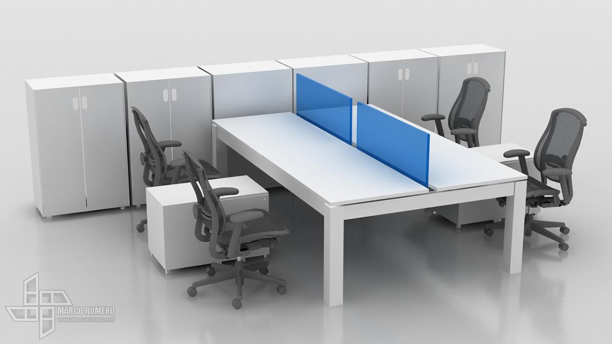 bima modular panel system Office furniture bench
