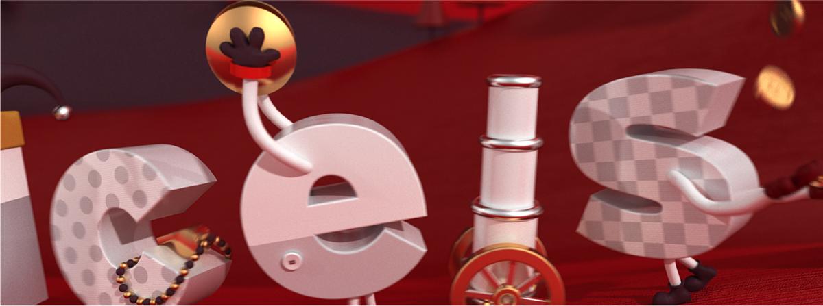 animation  Character design  ILLUSTRATION  Advertising  insurance king 3D 3D illustration Carnival