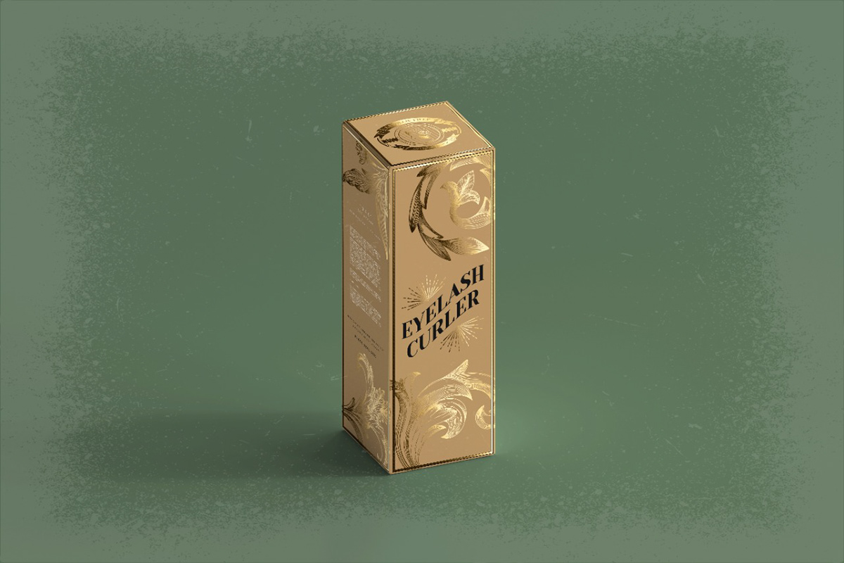 brand identity branding  design makeup Packaging product design  vintage