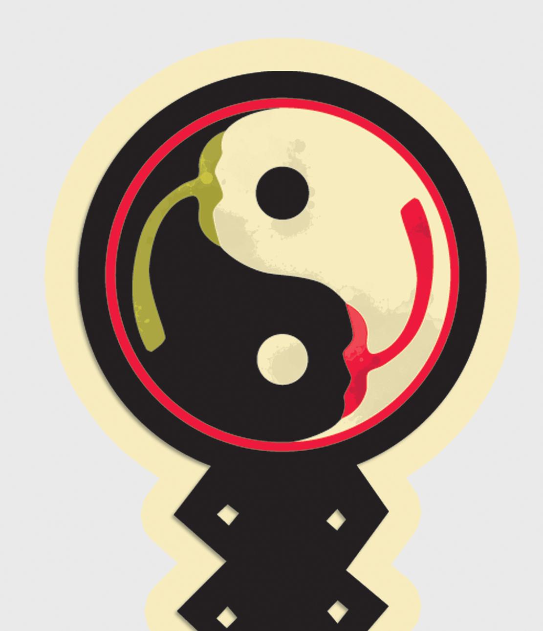 label design Chilli sauce oriental dragon Retro Fun illustrative design illustrated barcode illustrated designed